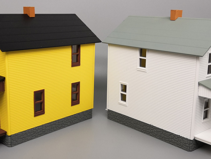 Building models in HO scale (1:87)